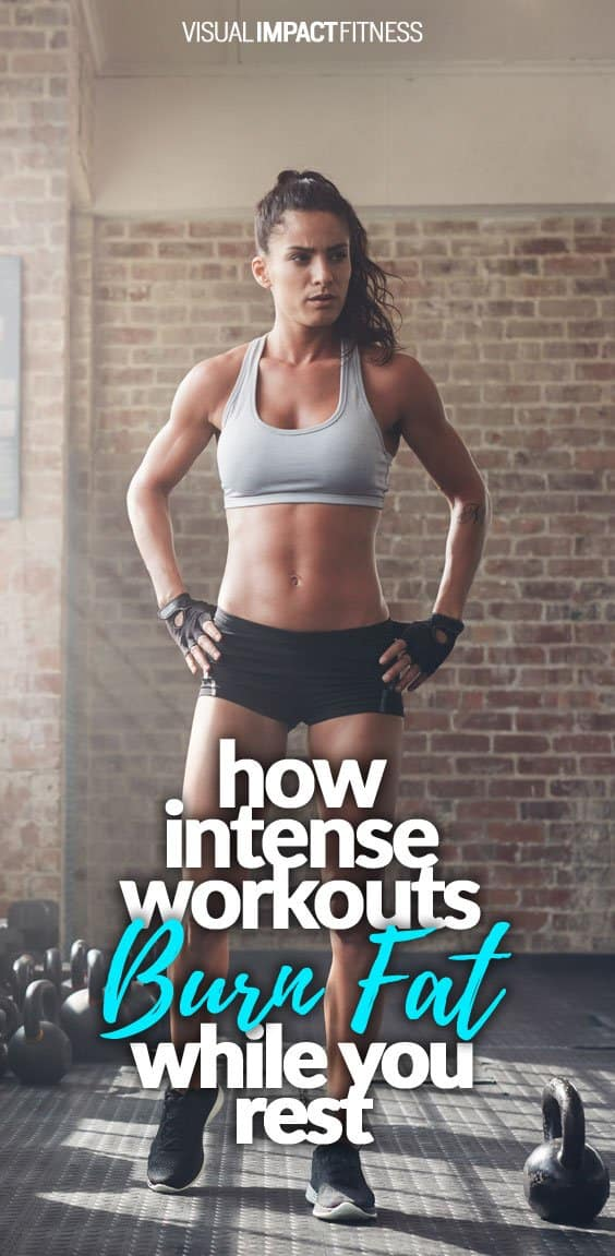 How Intense Workouts Burn Fat While You Rest