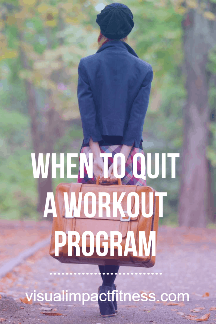 When To Quit A Workout Program: Moving On..