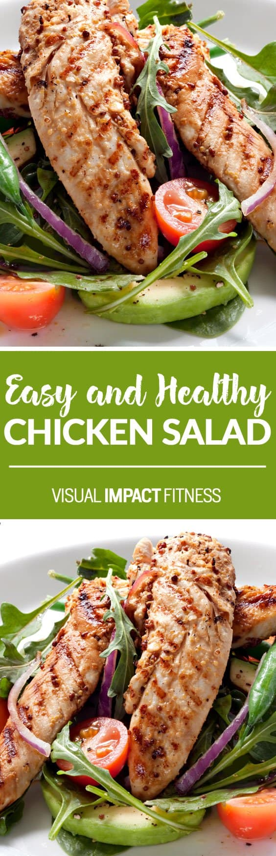 """Not Salad Again"" – Boring Chicken Salad for Weight Loss"