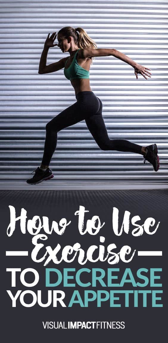 There are several studies finding that exercise increases appetite… and several finding that exercise decreases appetite. I see a few patterns when it comes to exercise and appetite. Most of us would like it if exercise decreased their appetite. I DO think it is possible. The focus of this post? Viewing exercise as an appetite suppressant. The more intense the exercise, the less ghrelin (hunger hormone) the body produces. Also, body temperature is now thought to play a large role in hunger...