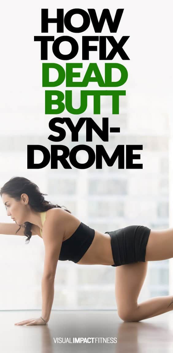 Dead butt syndrome is the inability to fire the glutes properly even when performing exercises targetting the glutes. It is typically caused by tight hip flexors that happen as a result of sitting all day. It makes me so happy that someone came up with this term, which basically describes the inability to fire your glutes properly. It happens to both men as well as women. Some call it Gluteal Amnesia. Another term that makes me smile. I will discuss what causes this and how to fix it in a se...