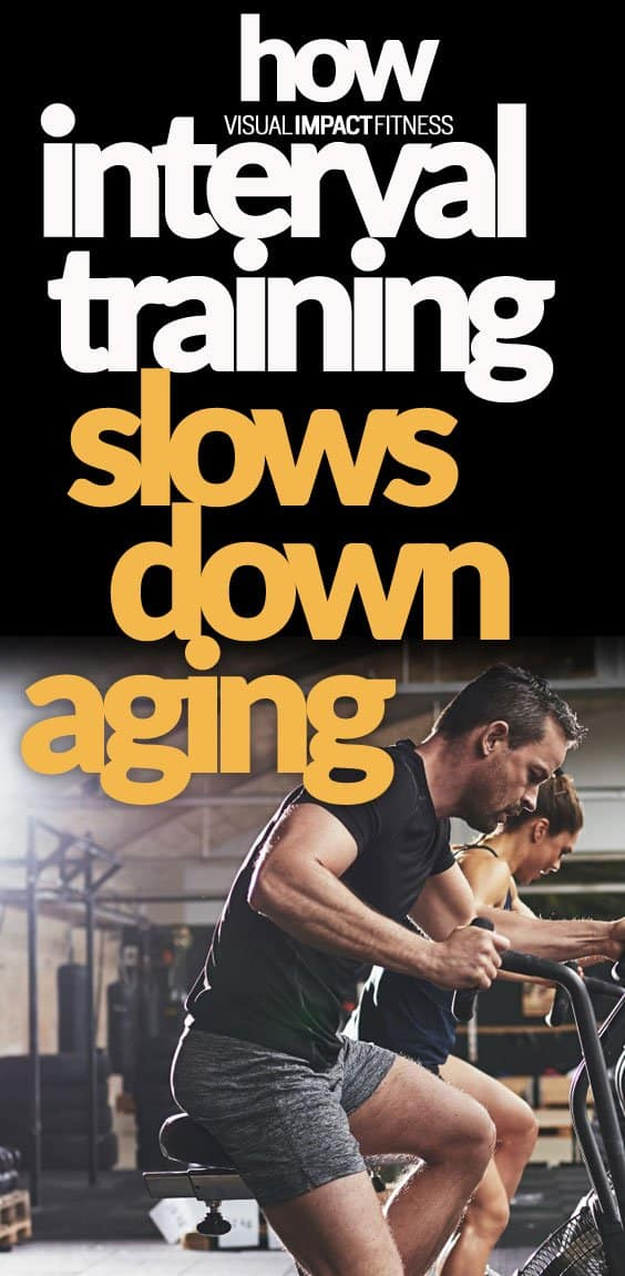 Interval Training Slows Aging