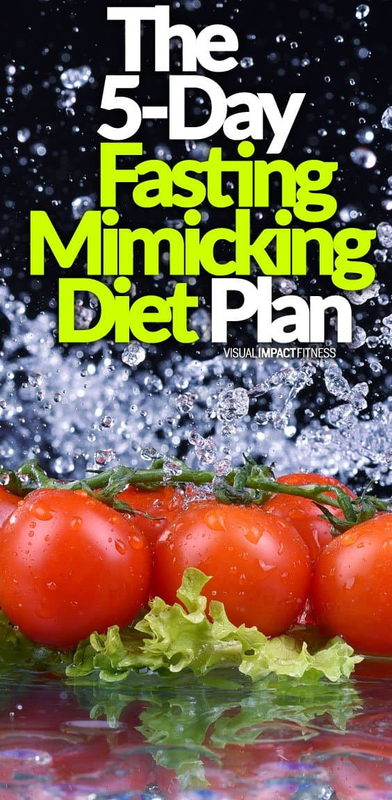 5-Day Fasting Mimicking Diet Plan (FMD) | What Foods to Eat