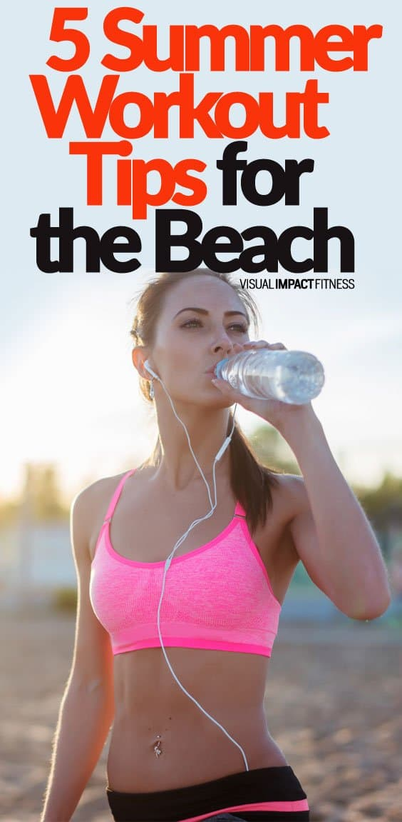 5 Summer Workout Tips for the Beach