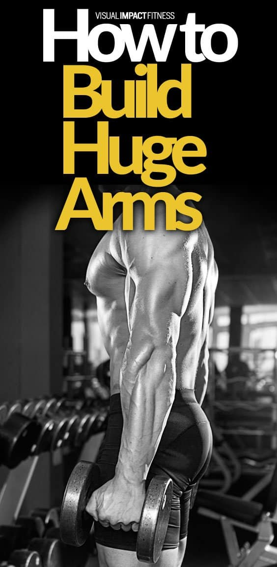 How to Build Bigger Arms | Biceps and Triceps Exercises