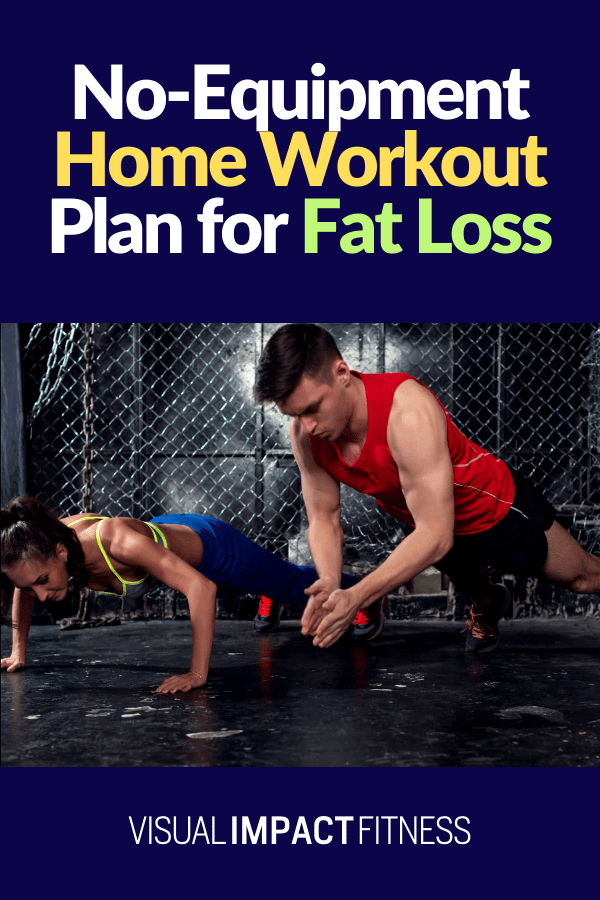 No-Equipment Home Workout Plan for Fat Loss