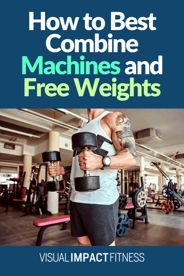 Machine exercises can compensate for a few of the flaws in free weight lifts. However, Free weight lifts do have some benefits. When you do a free weight exercise, you need to maintain control of the weight in a 3-dimensional area.  #dumbbellworkoutformen #dumbbellworkoutfullbody #dumbbellworkoutforwomen #dumbbellworkoutcore #dumbbellworkoutarms #dumbbellworkoutplan #barbellworkoutfullbody #barbellworkoutmens #barbellworkoutroutine #barbellworkoutstrengthtraining #barbellworkoutforwomen