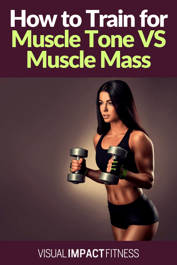 How to Train for Muscle Tone VS Muscle Mass