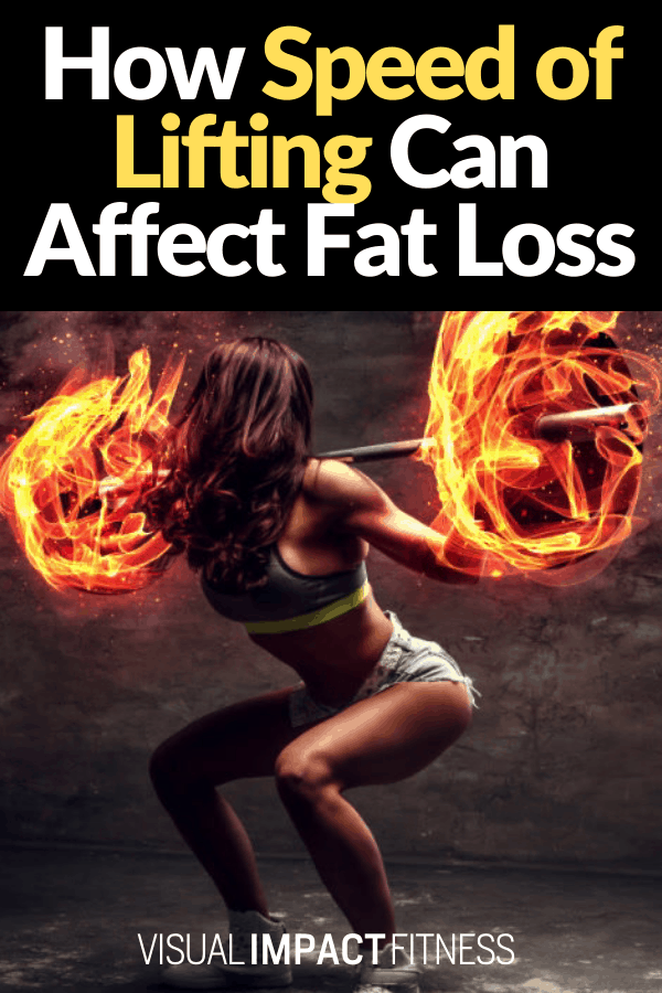 How Speed of Lifting Can Affect Fat Loss