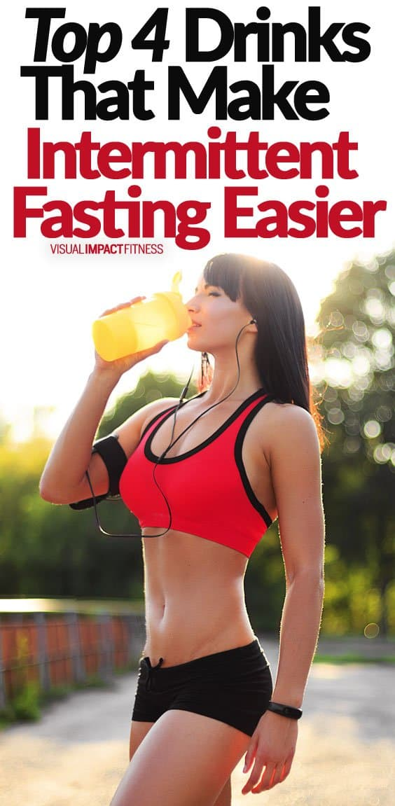 Intermittent fasting sounds like a tough way to diet if you have never tried it. What you will find is that pretty quickly it becomes second nature. That being said, there are a few hacks that make this diet more effective. Here is a video explaining the best things to drink during the fasting period and what to avoid. Apple cider vinegar: This has acetic acid, which helps your body absorb nutrients and balances blood sugar levels. Green Tea: The EGCG in tea increases CKK (Cholecystokinin) which decreases hunger. Green tea also increases adrenaline which releases fat from fat cells to use for energy.