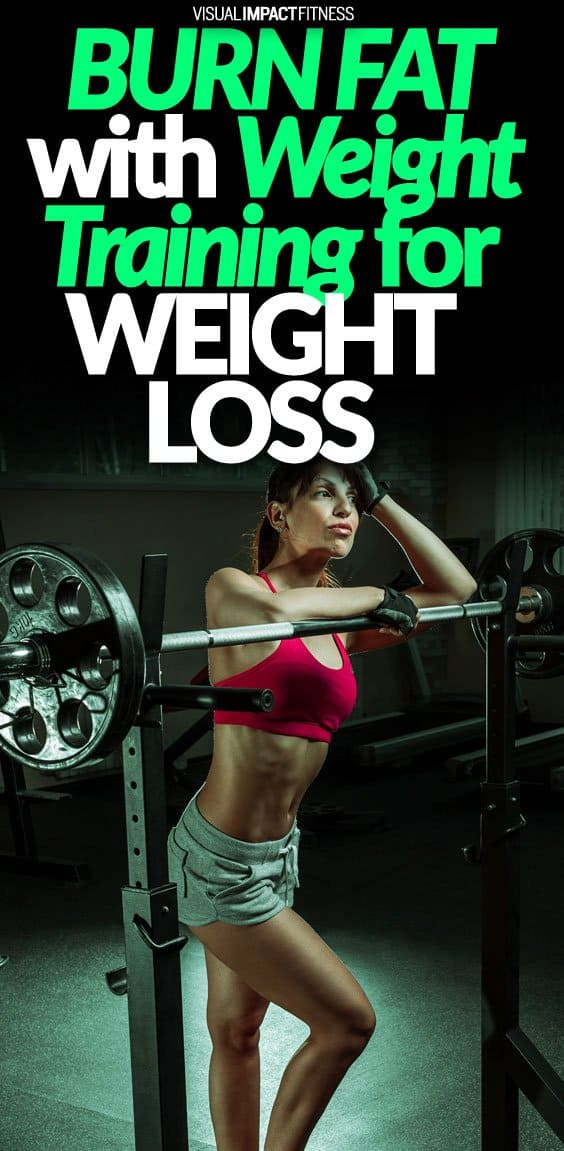 A common belief is that weight training builds muscle and that cardio burns fat. While this is true, weight training is also a great way to lose weight and burn fat. The biggest benefit of weight training is that it affects your body long after the workout is over. Your body continues to use calories after you leave the gym. Here's a video that explains how weight training for weight loss works. If you think about it, weight training is a lot like HIIT. When you perform a set and then rest, it is a form of interval training. I still recommend following up your weight training sessions with cardio.