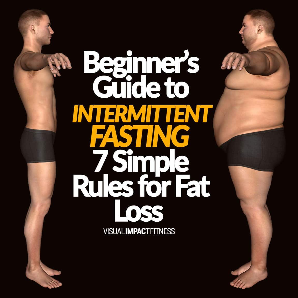 Beginner's guide to INTERMITTENT FASTING 7 Simple Rules for Fat Loss