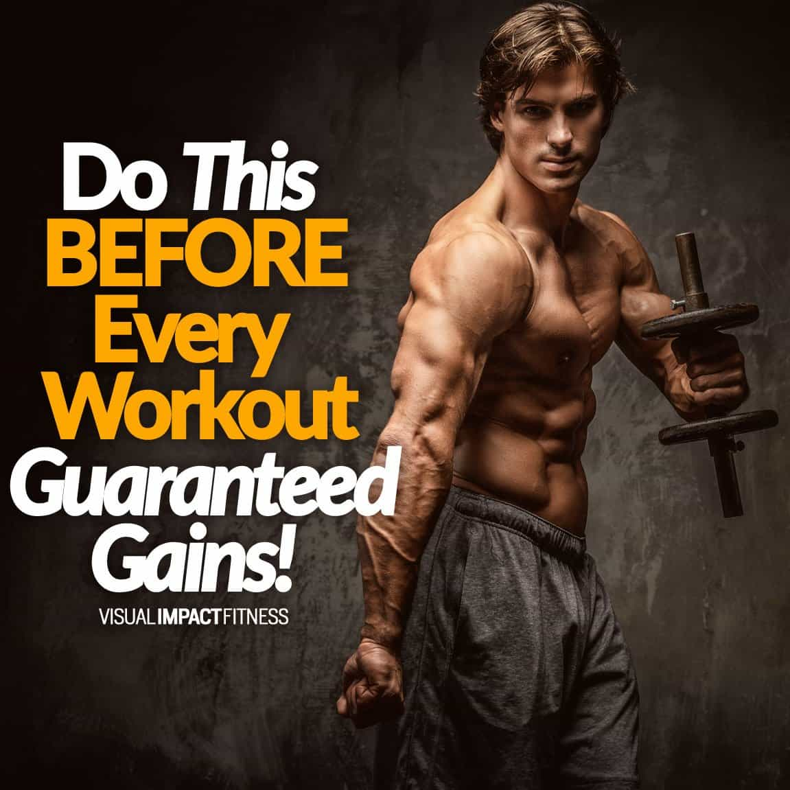 Do This BEFORE Every Workout (Guaranteed Gains)