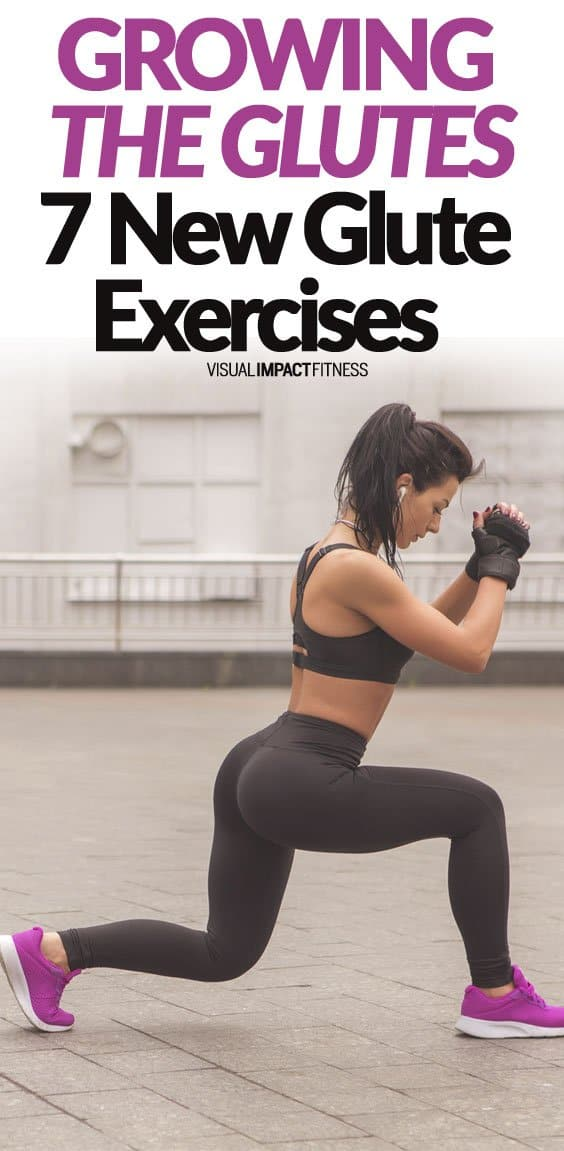 If you do the same glute exercises over and over your body may adapt by not improving. Changing the exercises in your lower body workout routine may shock your booty into quick growth. Here's a video going through 7 new glute exercises you may want to try to build a firm rounded butt. Give these a try if you are bored with your current lower body workout. I also have a written a detailed post on the highest ranked glute exercises.