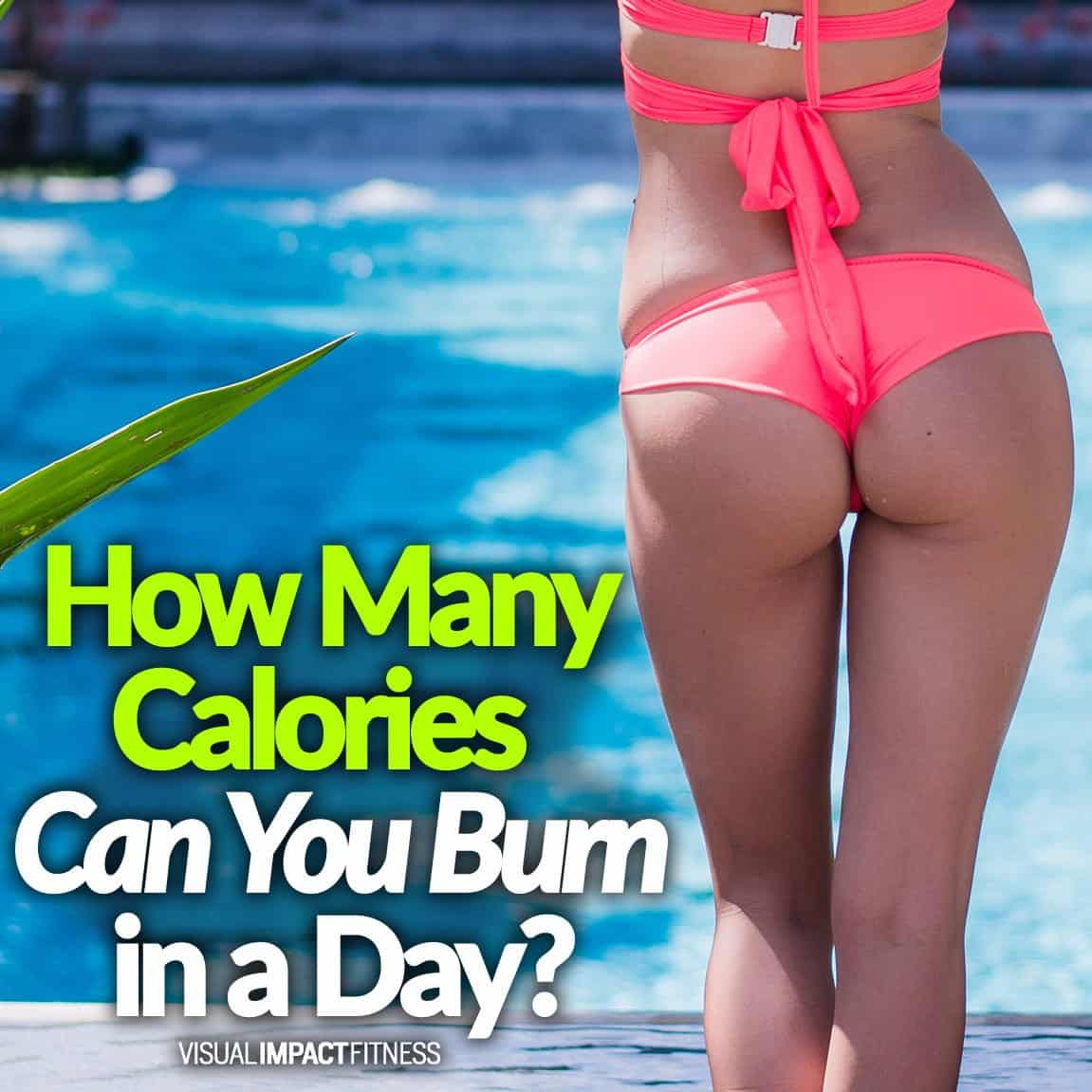 How Many Calories Can You Burn in a Day