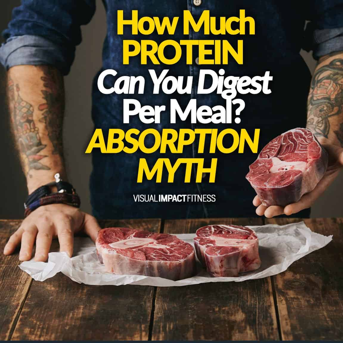 How Much Protein Can You Digest Per Meal (ABSORPTION MYTH)