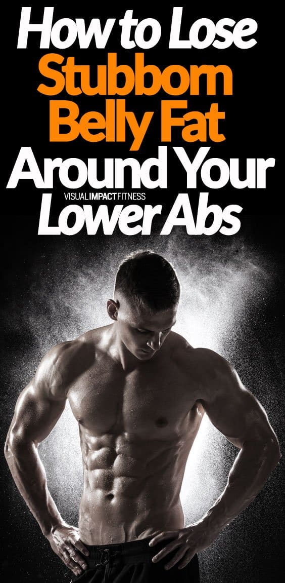 """For men, in particular, the last part of the body that loses fat is on the lower abs. Women have this issue as well, but this normally isn't as tough as losing fat around the upper thighs and glutes. Focusing all your efforts on a lower abs workout isn't the key to losing fat on this part of your body. So how do we lose this lower belly fat? Here's a video explaining what stubborn body fat is and how to lose it. A point he makes is that stubborn body fat isn't a serious issue unless you are a competitor. What a lot of people call """"stubborn"""" is simply just body fat. The fastest route to fat loss, in my opinion, is to do an HIIT style workout followed by 20-30 minutes of walking."""