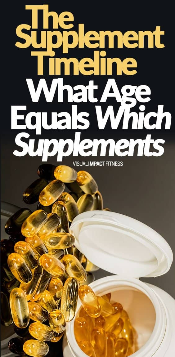 """Supplement requirements change throughout your lifetime. When you are young, your hormones and metabolism are so strong you require less in the way of supplements. I remember eating a pretty """"iffy"""" diet and was lean and felt awesome until about my mid-30s. Now I am in my 40s I realize I had it pretty good back then. Here's a video showing how your supplement requirements change throughout your lifetime. If you are in your mid 40's and beyond you know that the rules change a bit for staying lean."""