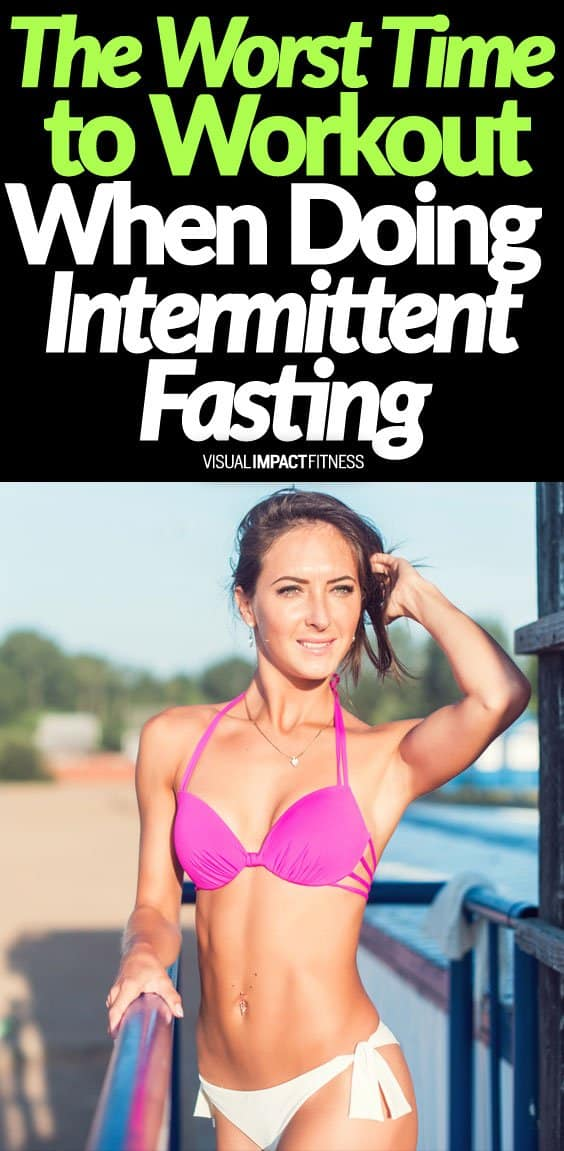 Is there a bad time workout when using intermittent fasting for weight loss? I think so. If you time your workout wrong, you will have a tough time making it through the fasting period. I would say the ideal time is to train right before you break your fast with a meal. Here's a video talking about the worst time to workout when using intermittent fasting. The problem with training too far from your first meal is that you will be starving by the time it comes around. Want to learn more intermittent fasting tactics?