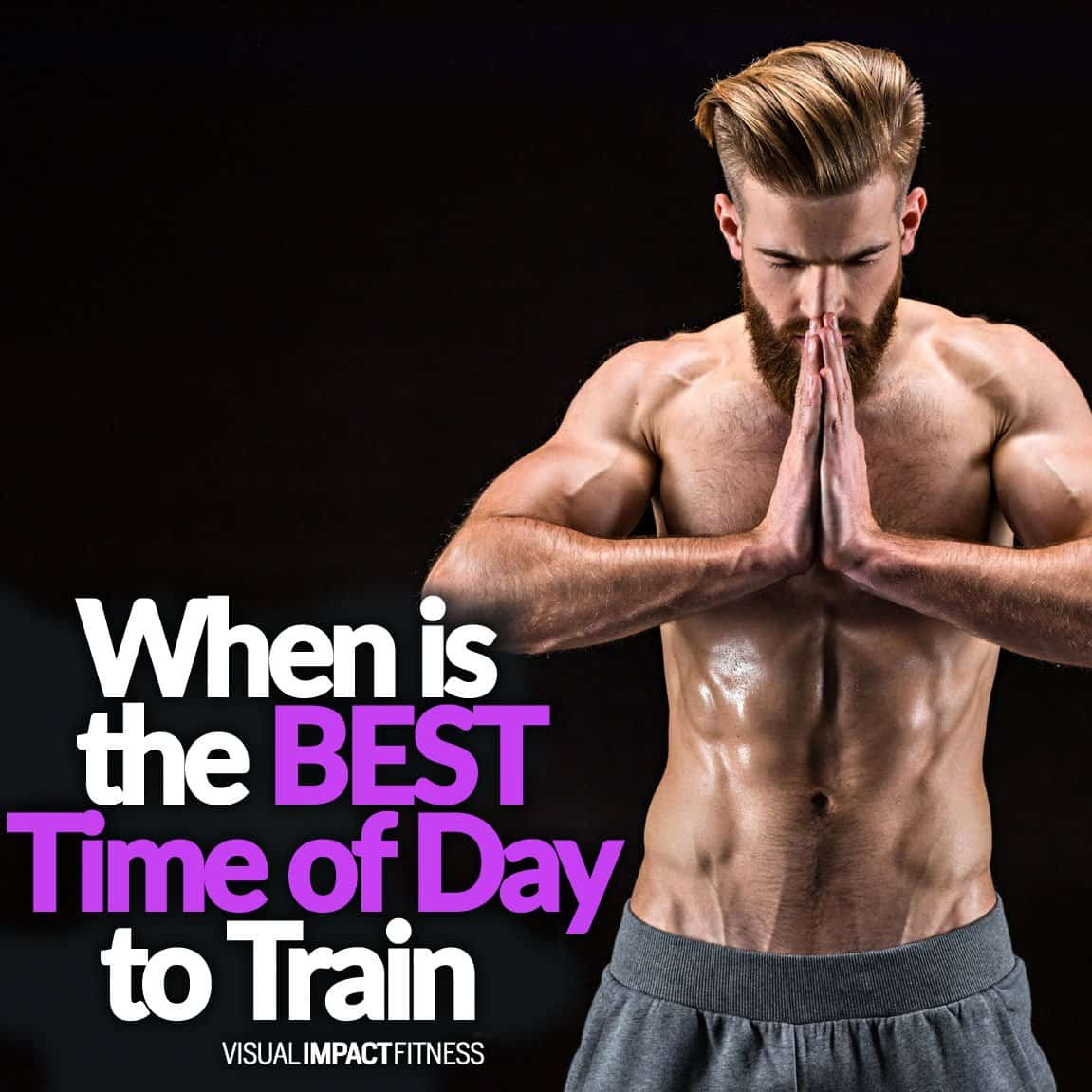 When is the BEST Time of Day to Train