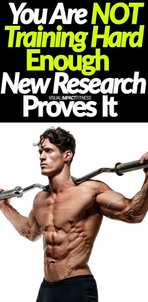 When increasing muscle mass is a goal, you should try to train close to failure. When strength or muscle definition is a goal you will want to avoid failure (more on this point below). For gaining maximum muscle you need to train hard here's a video examining a recent study showing people are stopping their sets too early when trying to build mass. He explains that you must train at an RPE (perceived effort) of 7 or greater to stimulate growth and people typically stop at an RPE of 4. So push close to failure if you want to gain mass. What if you don't want to gain muscle mass and would rather look slim and sleek? Here's a 3 part blog post I wrote outlining the exact approach I have used with fashion models over the years.