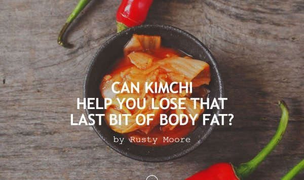 kimchi for weight loss