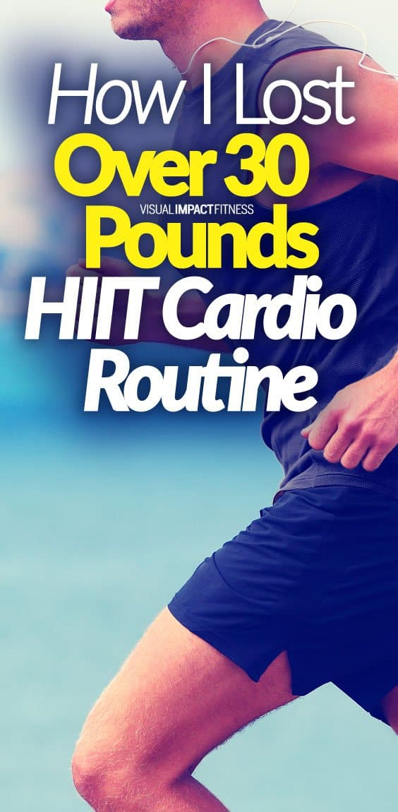 How I Lost Over 30 Pounds | HIIT Cardio Routine