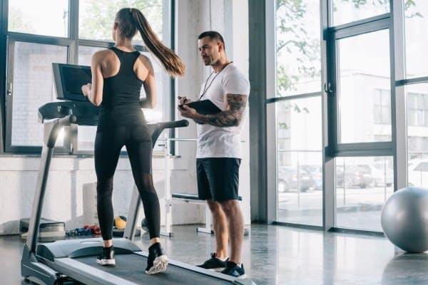 treadmill to lose face fat