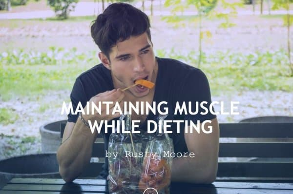maintain muscle on a low calorie diet