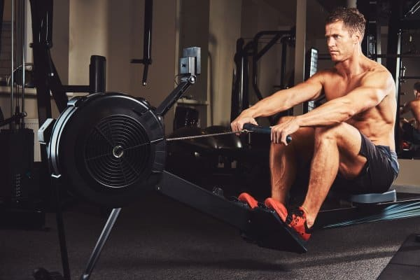 rowing machine hiit cardio workout