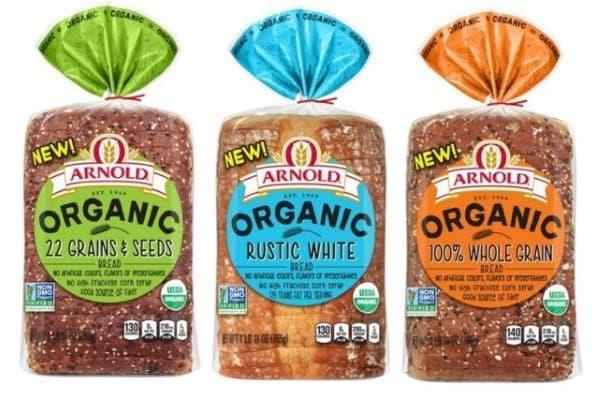 arnold organic bread