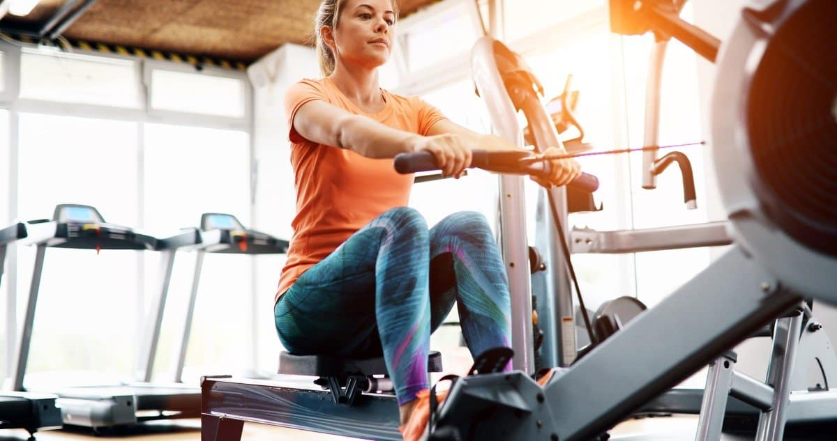 lactic acid intervals on rowing machine