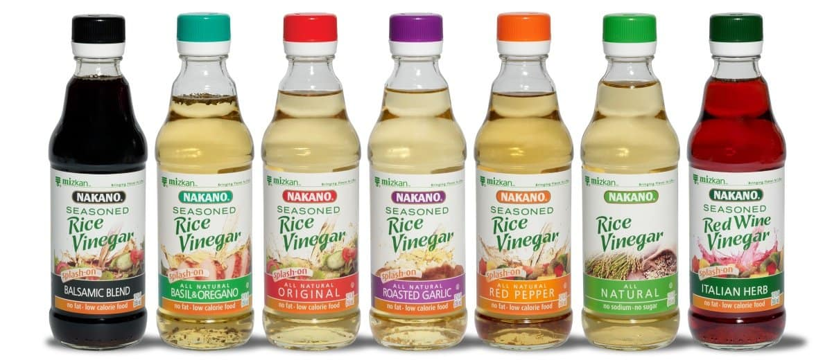 rice vinegar flavors
