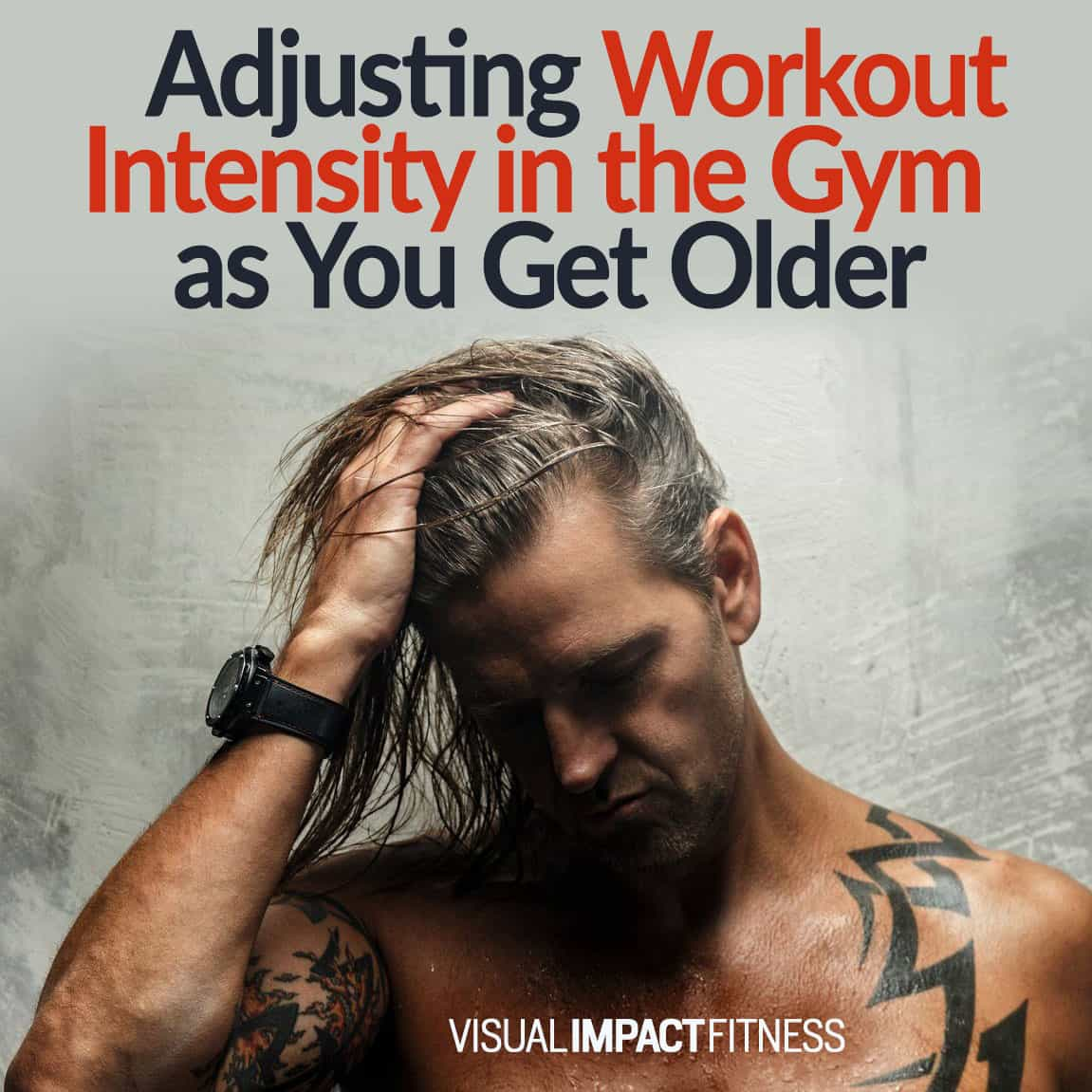 Adjusting Workout Intensity in the Gym as You Get Older