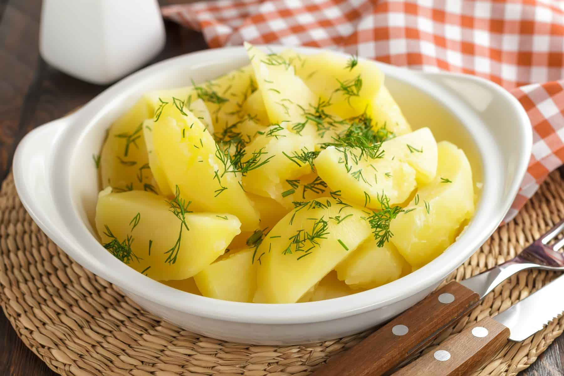 boiled potatoes to lose weight