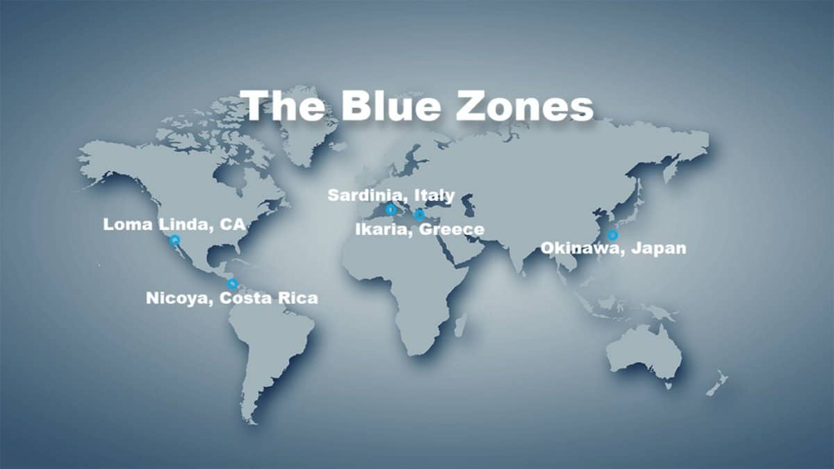 The 5 Blue Zones