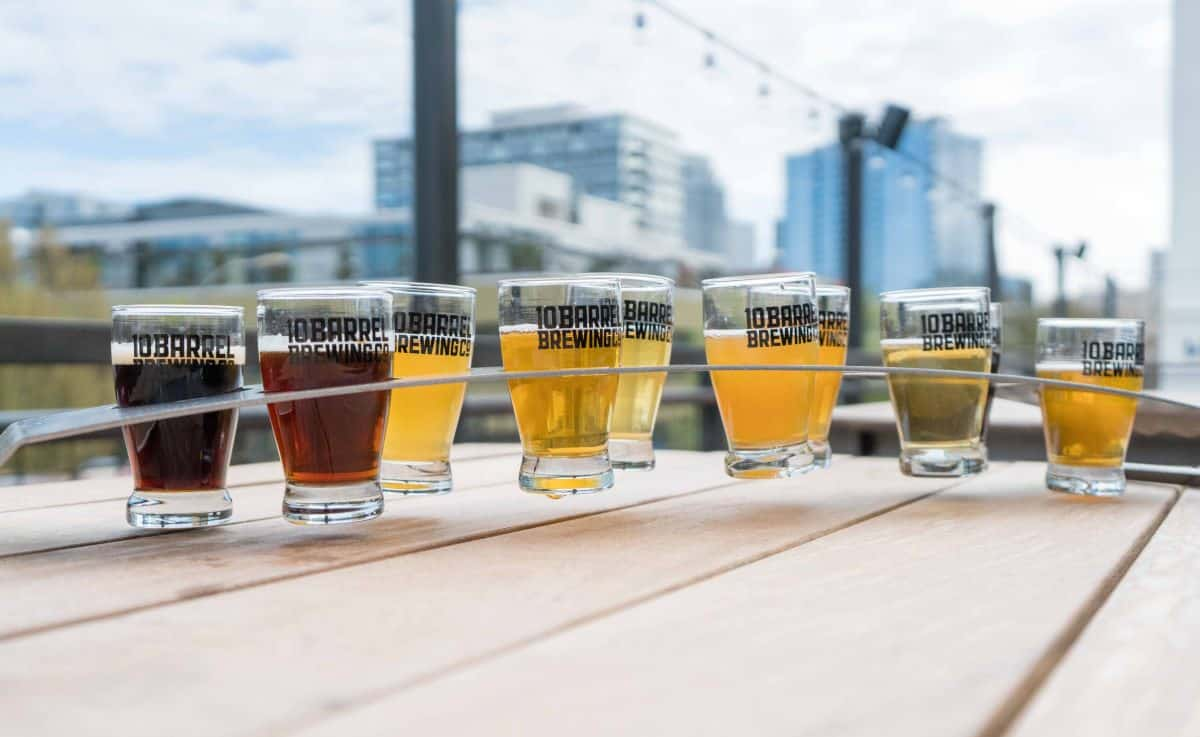 beer sampling in portland oregon