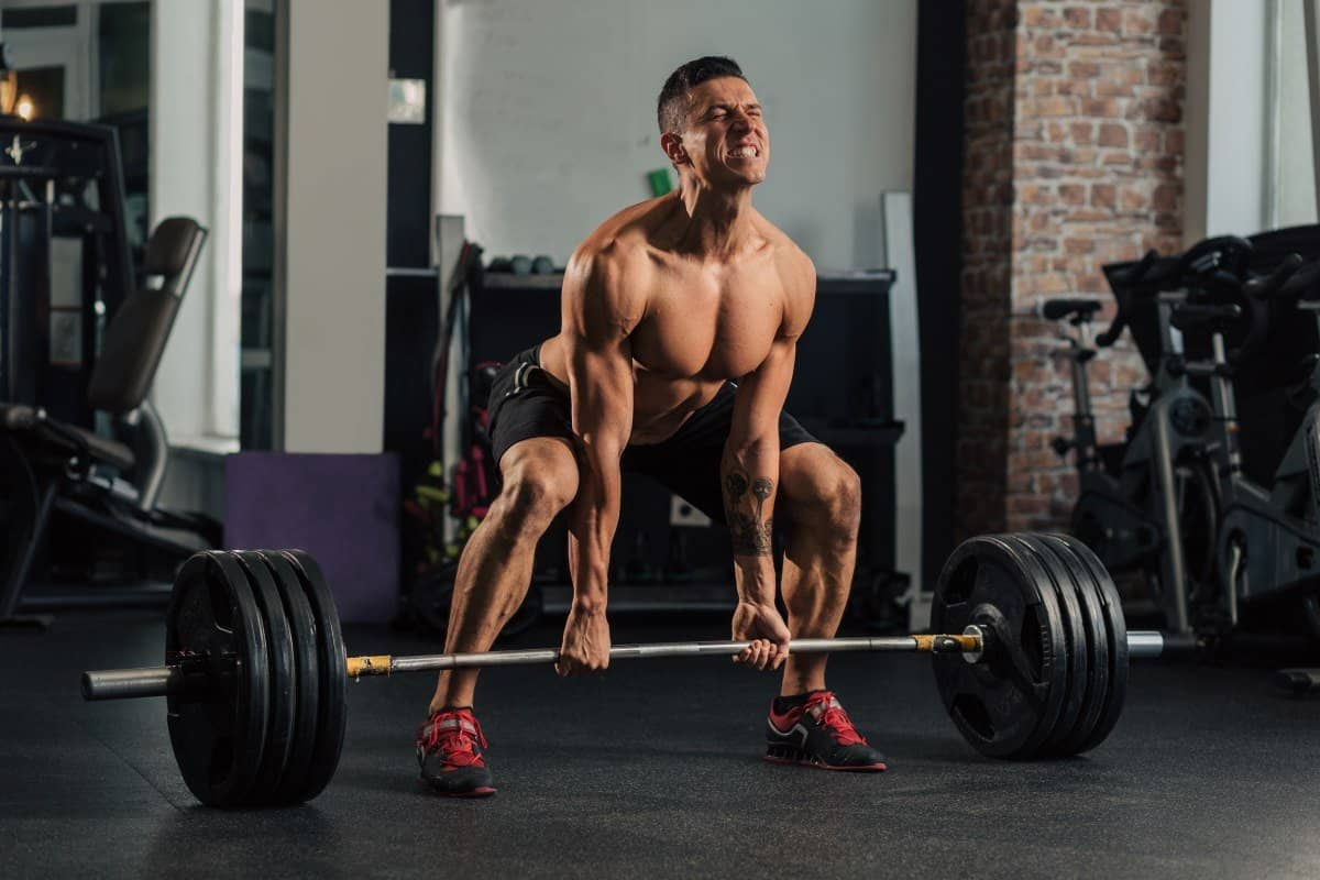 deadlifts setting up for injury