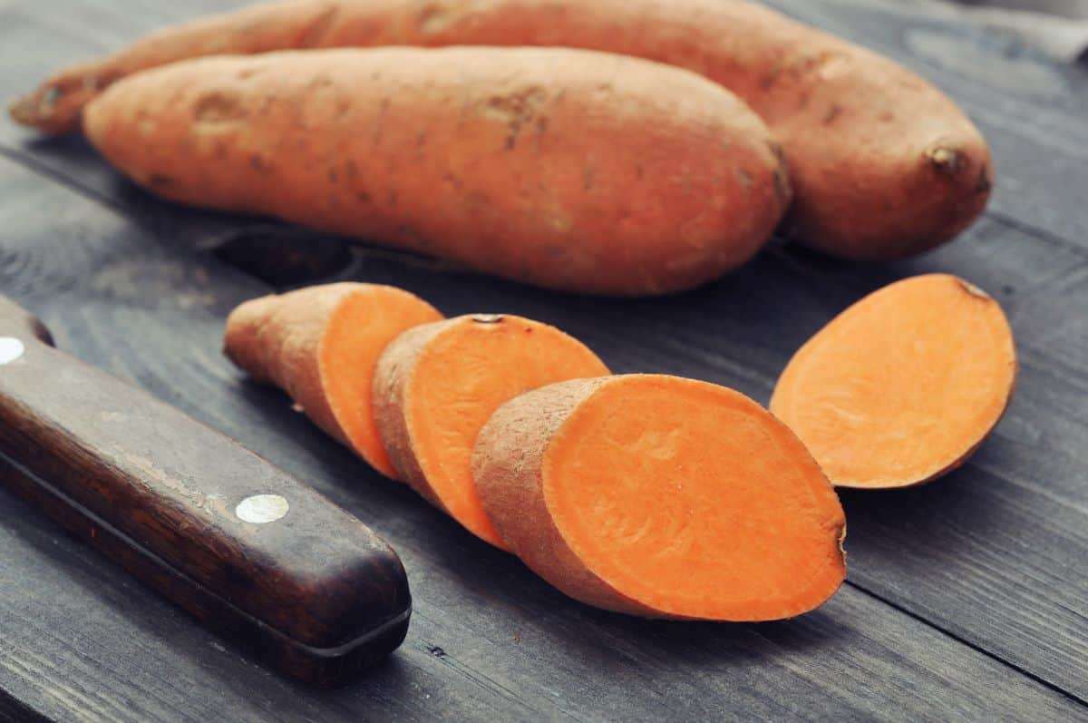 sweet potatoes and yams