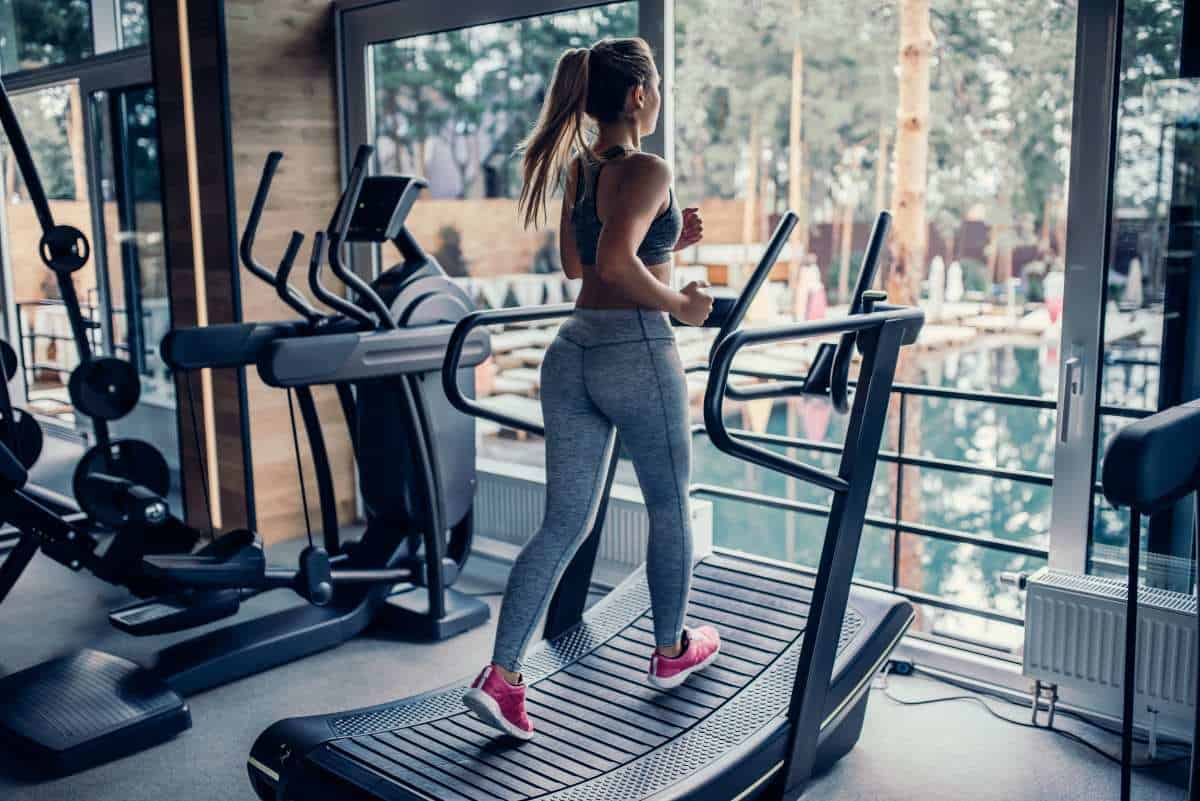 walking speed on treadmill