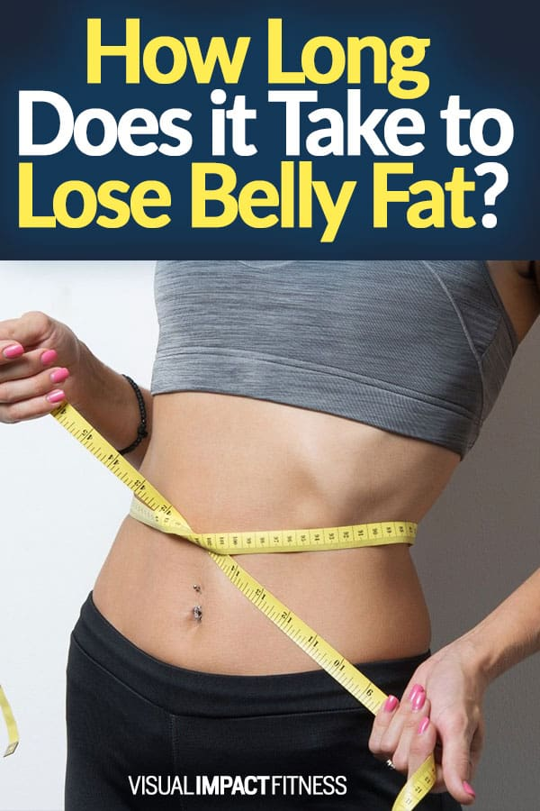 How Long Does it Take to Lose Belly Fat?