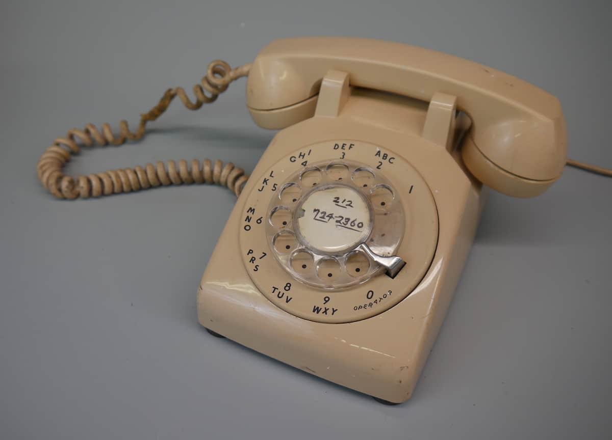 beige phone 1980s