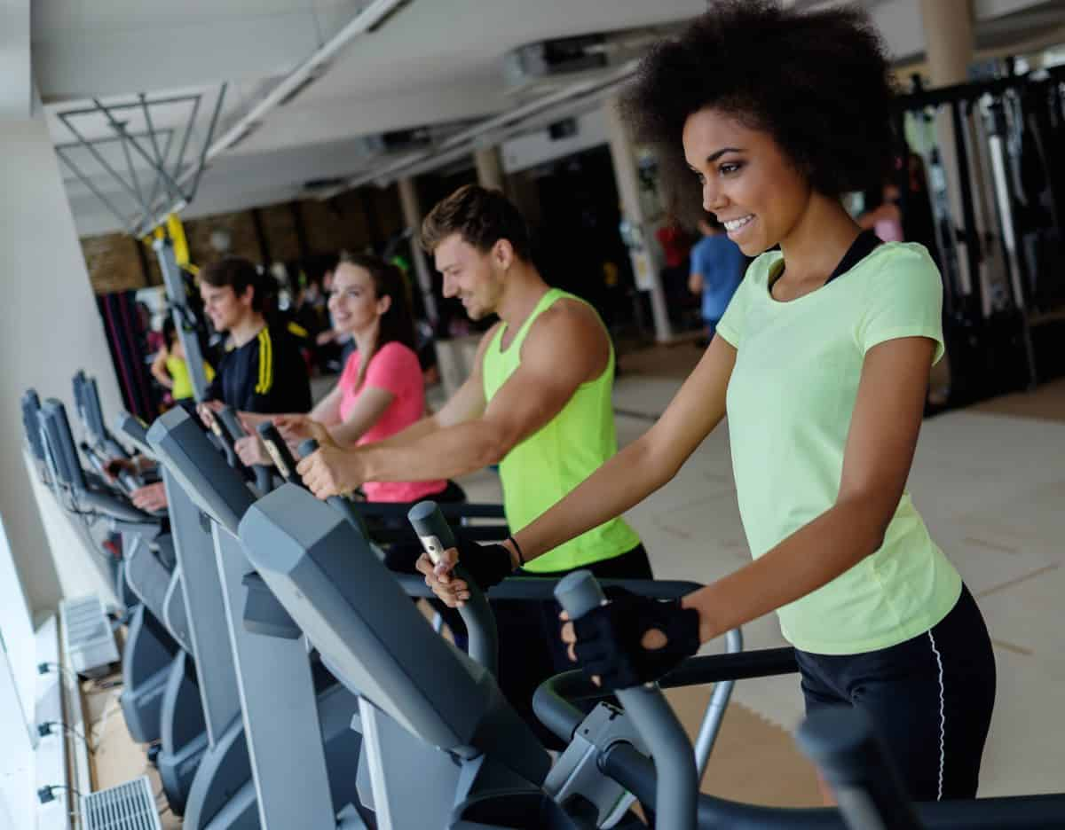cardio exercise to get heart rate up