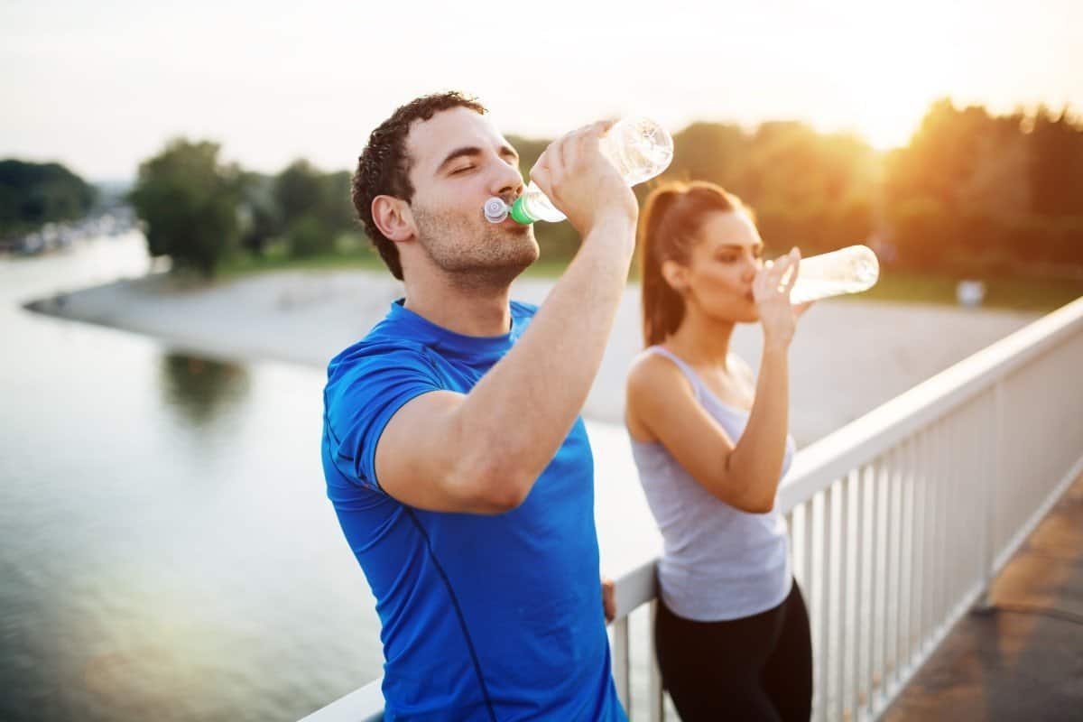 drink water to curb appetite