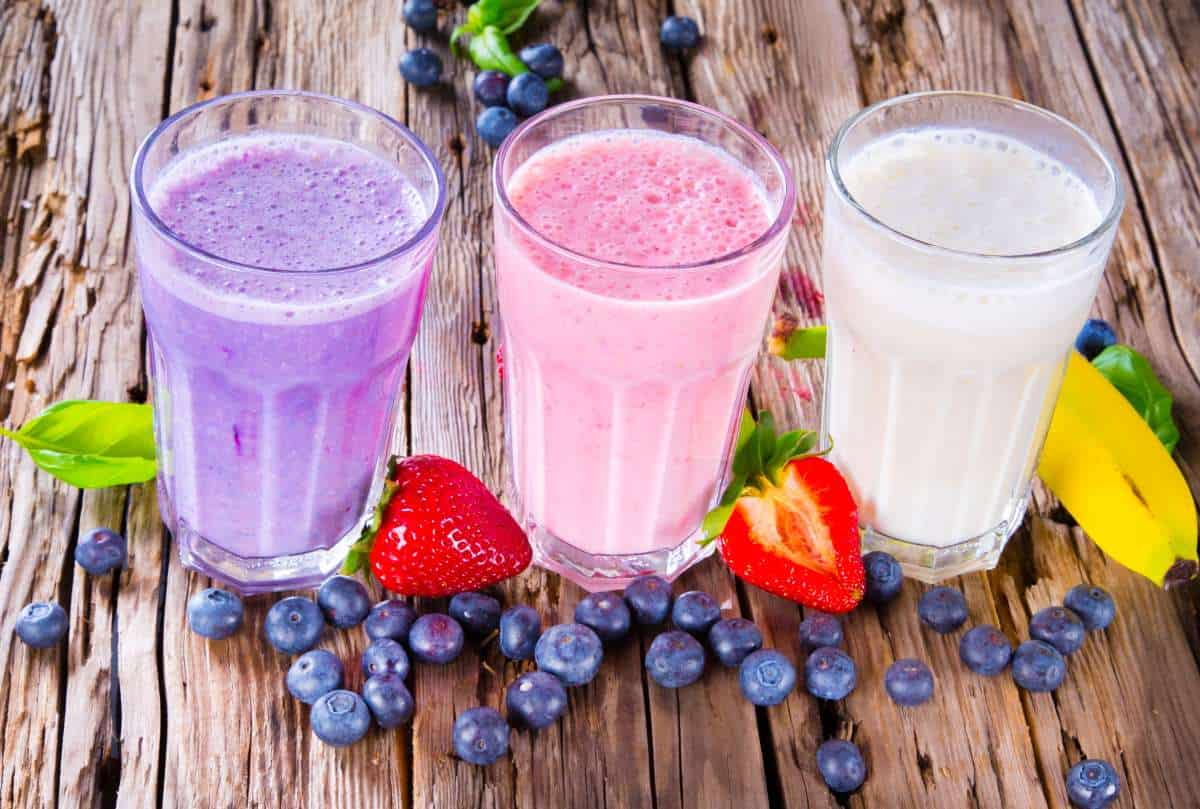 fruit smoothies before workout