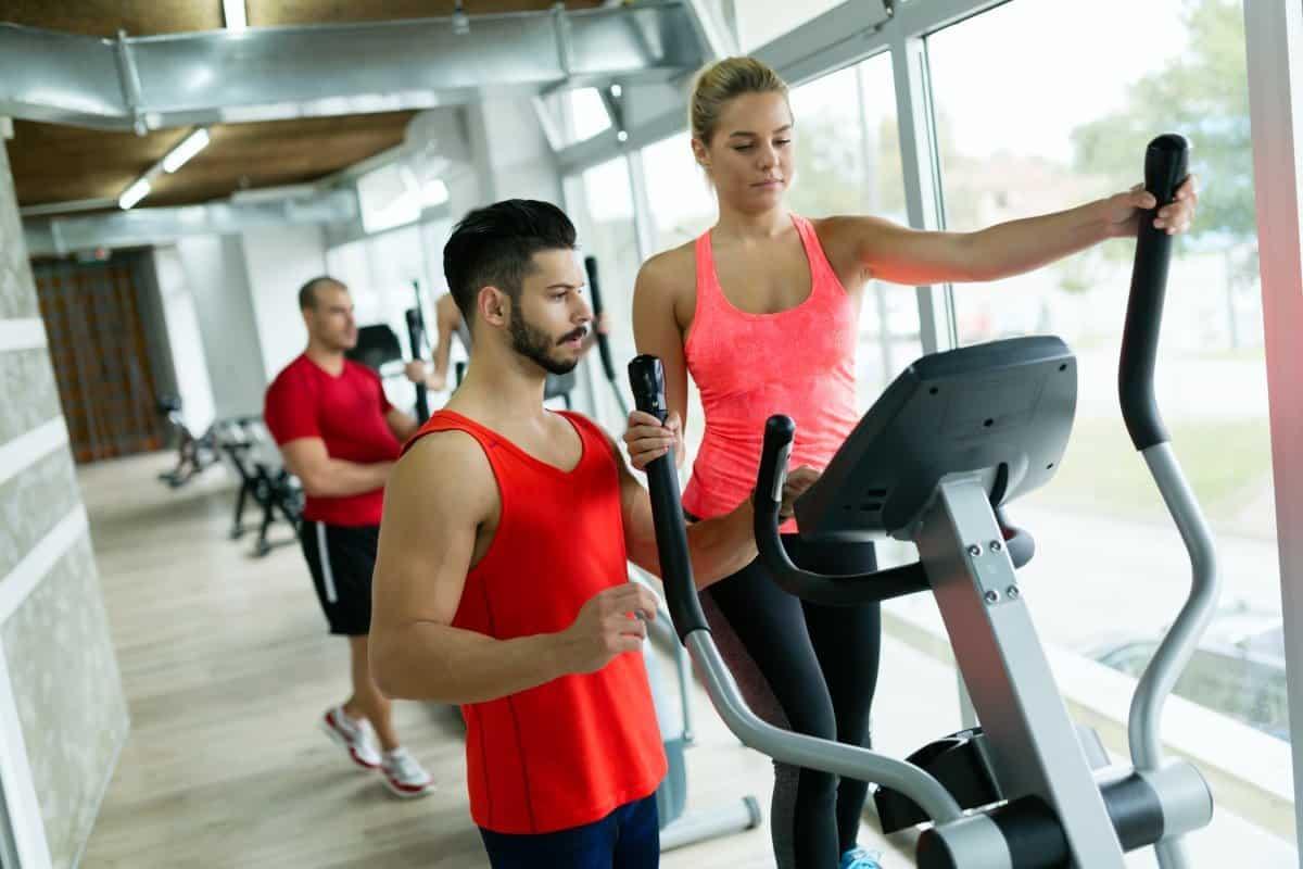 hiit cardio on elliptical trainer