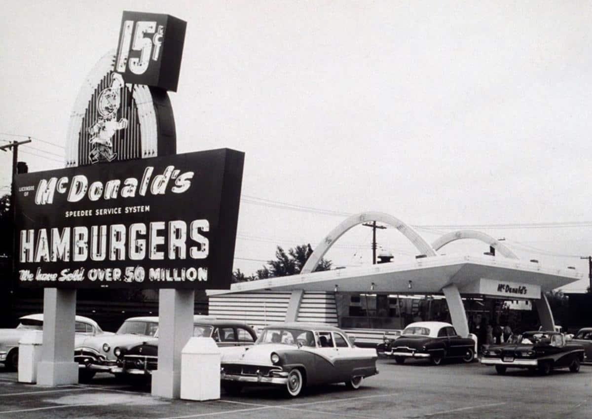 mcdonalds 1950s