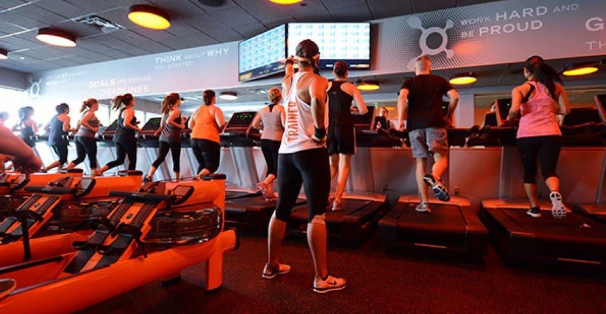 orange theory cardio machines