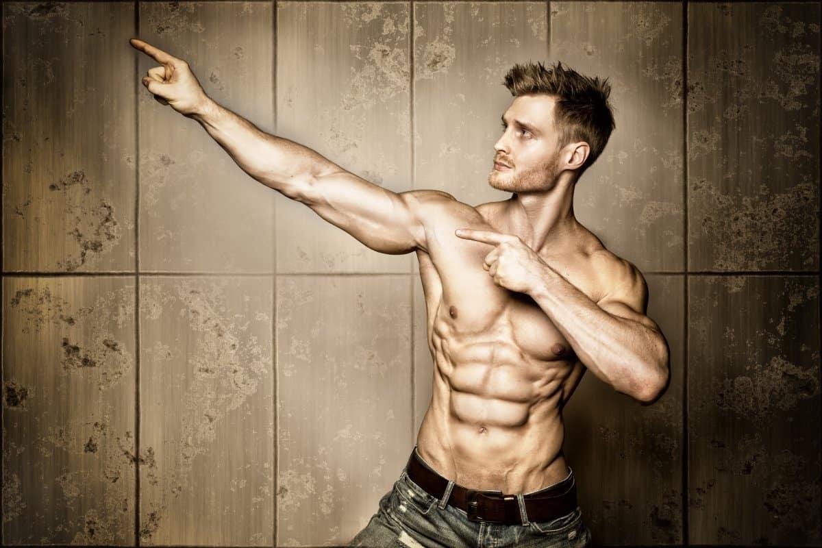smart professional bodybuilder
