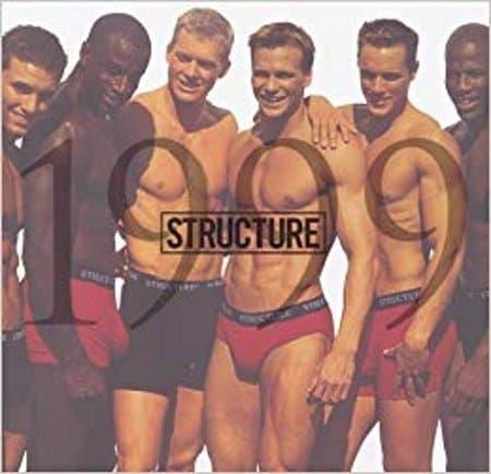 structure underwear calendar